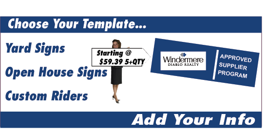 Windermere – House for Sale Sign Template
