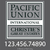 Pacific Union Real Estate Signs | Marin Real Estate Signs