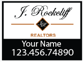 You Rock with J.Rockcliff Real Estate Signs