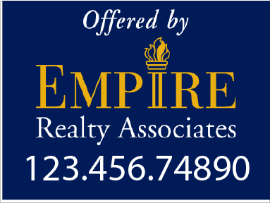 Real Estate Signs building Empires!