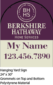 Berkshire Hanging Sign