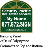 Secuirty Pacific Real Estate Sign